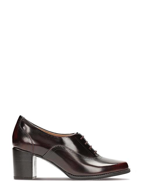 Clarks Topuklu Ayakkabı Bordo